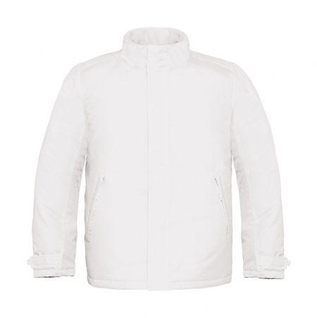 giacca pesante b&c bianco