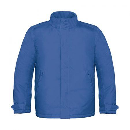 giacca pesante b&c blue royal