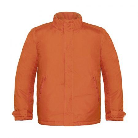 giacca pesante b&c arancione