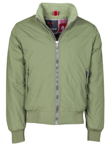 giacca invernale north verde militare