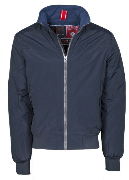 giacca invernale uomo north blue navy