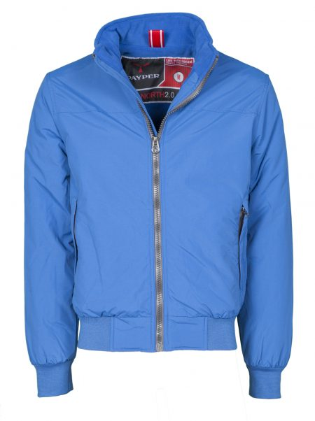 giacca invernale uomo north blue royal