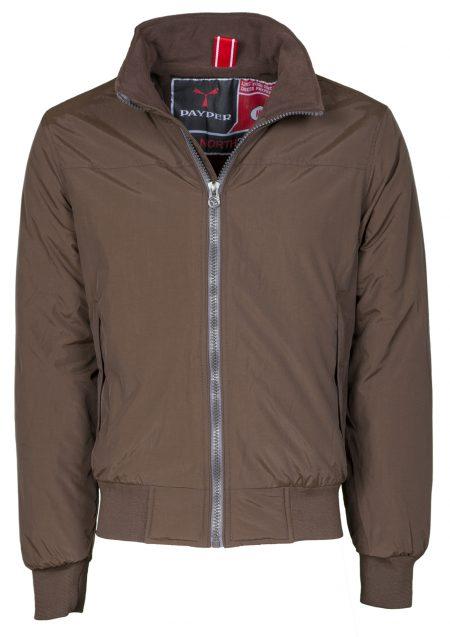 giacca invernale north uomo marrone
