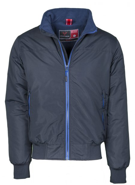 giacca invernale maps blue navy