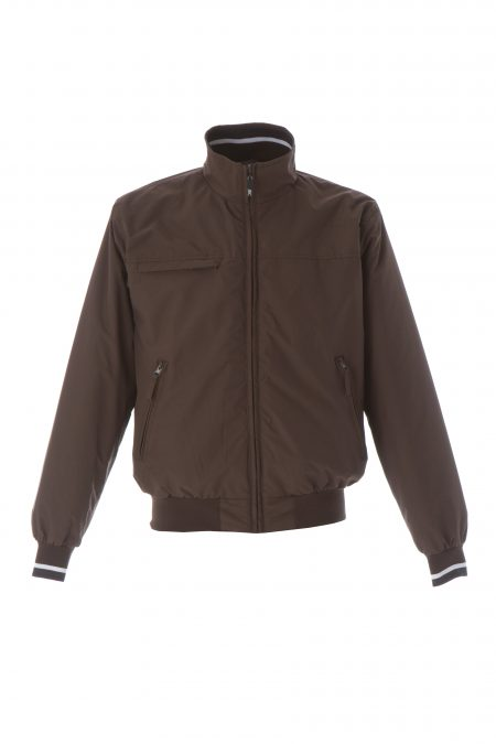 giacca invernale new usa marrone