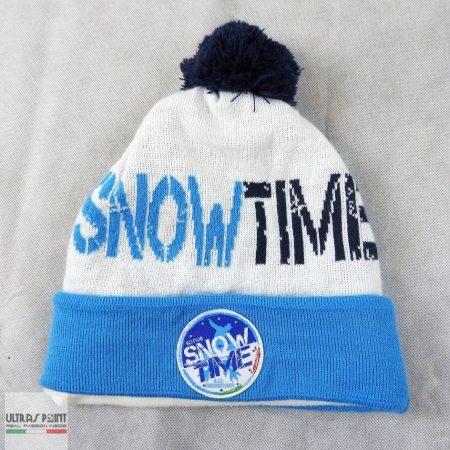 cuffia risvolto ponpon fodera in pile snowtime (1) (Large) (Large)