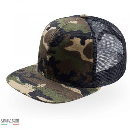 cappello con visiera stadio