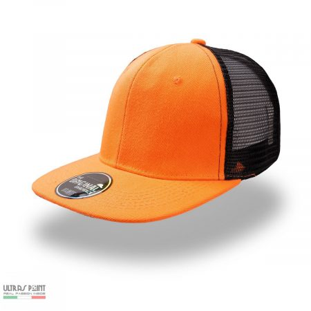 cappello snap mesh