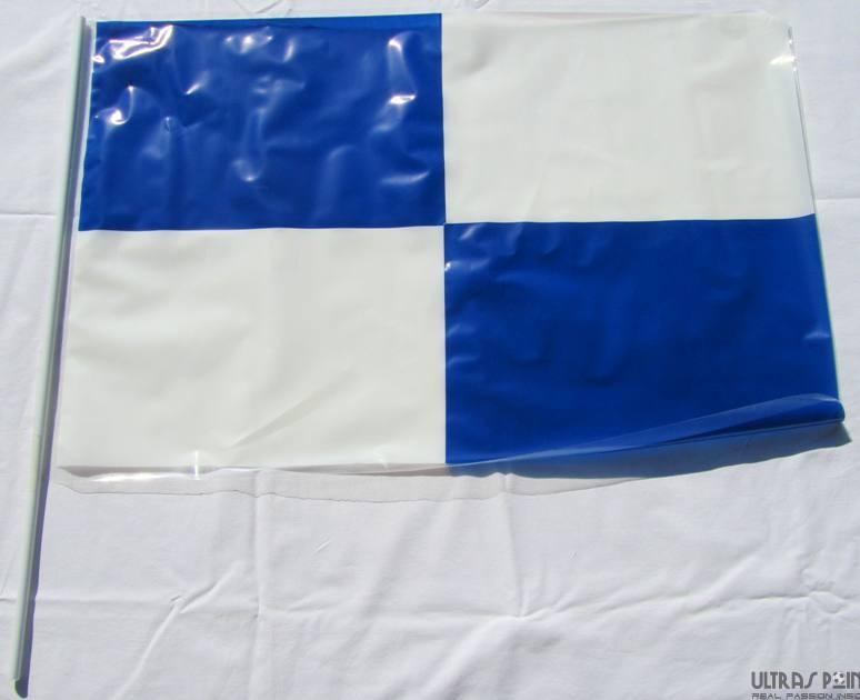 Bandiere plastica a scacchi