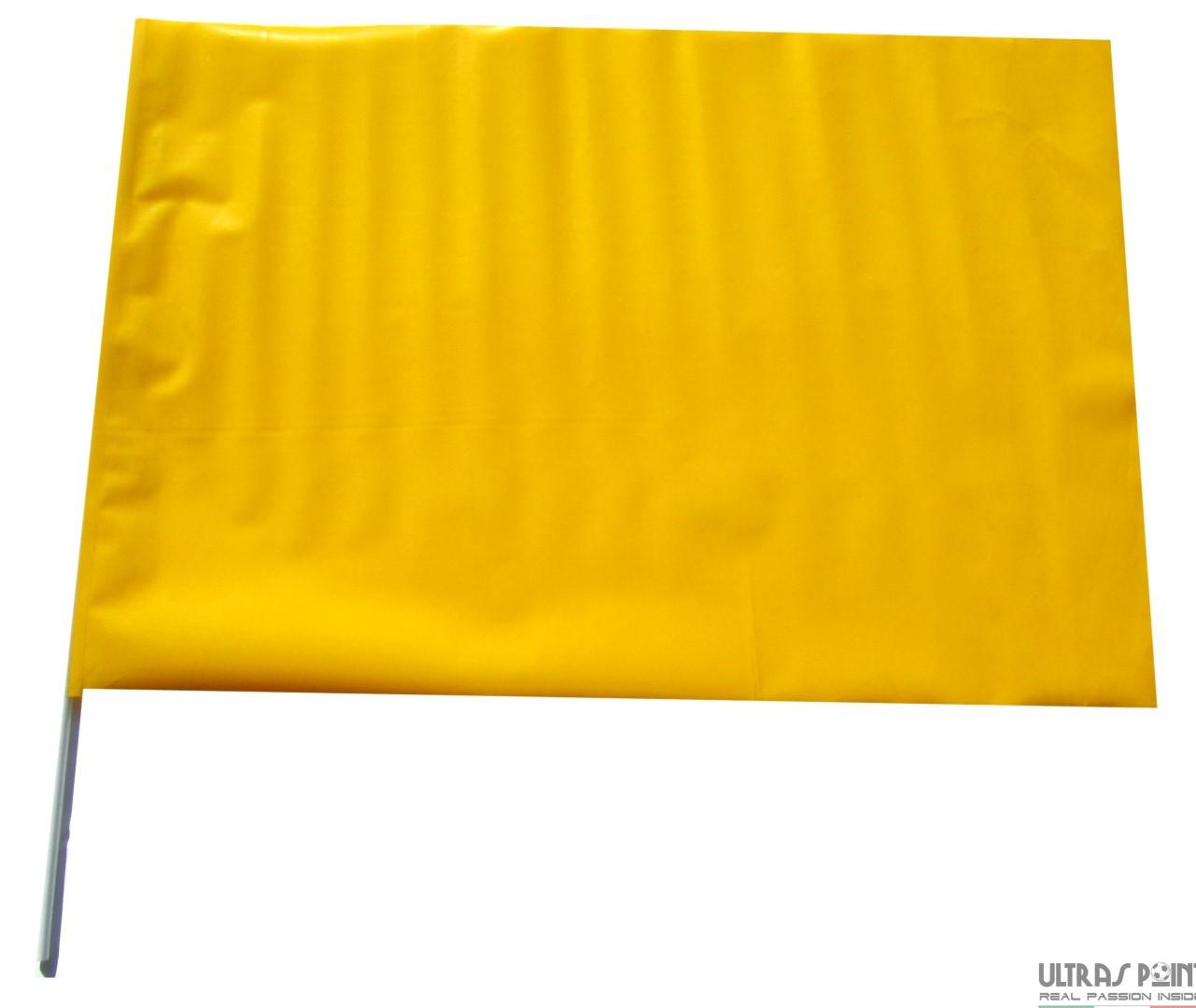 bandiere plastica monocolore gialla