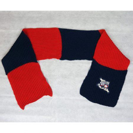 sciarpa lana grossa rigata