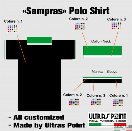 grafica per polo SAMPRAS