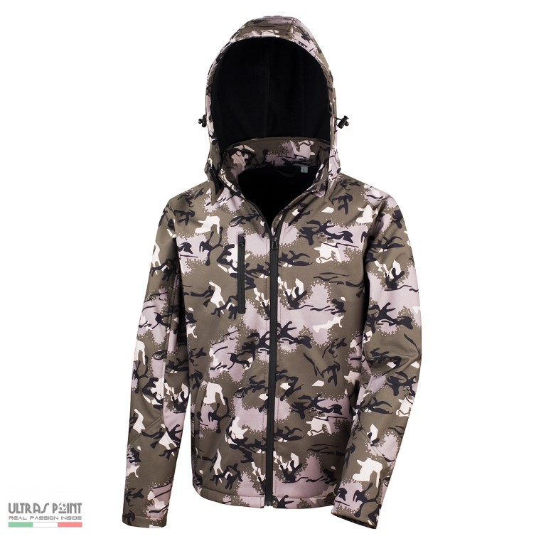 Softshell Giacca Result Ultraspoint Mimetica yP80OvNmnw