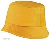 cappello pescatore personalizzato giallo