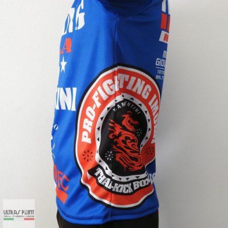 maglietta palestra combat