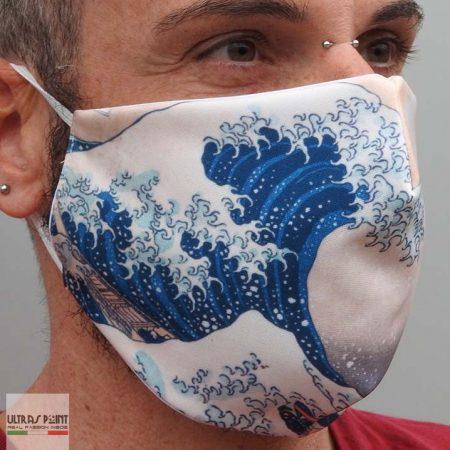 mascherina la grande onda neutra