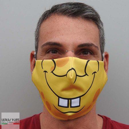 mascherina spongebob