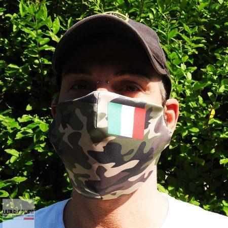 mascherine personalizzate mimetiche