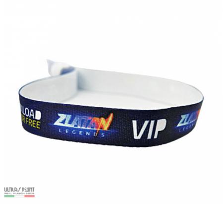 braccialetti in raso personalizzati
